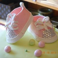 Converse baby bling:)