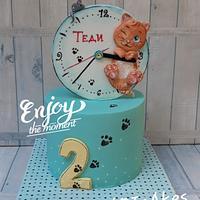 Cats & clocks...😁