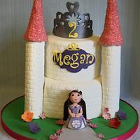 Megans Princess Sofia Castle cake!