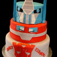 Transformers cake by Jewell Coleman