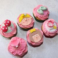 Tinkerbell and Princess Cupcakes