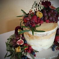 Fruity Wedding  by Essentially Cakes