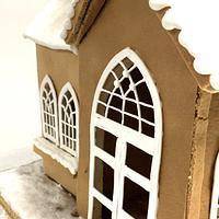 Gingerbread church by Agnes Havan-tortadecor.hu
