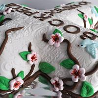 Easter cross  cake by Sabina