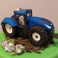 Vehicles cake toppers