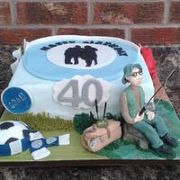 Hobbies and interests cake