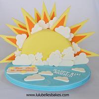 21st Sun Cake