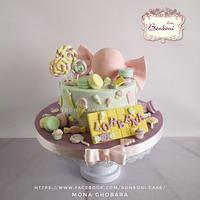 candy cake by Bonboni Cake
