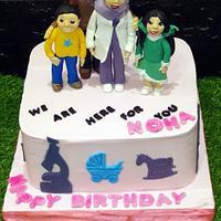 Family & career cake