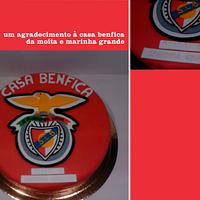 Benfica Cake!