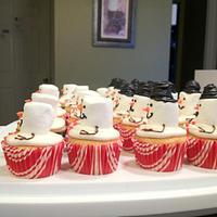 Snowman Cupcakes by Dawn Henderson