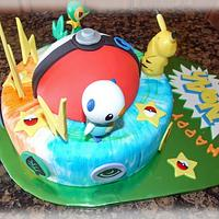 Pokemon cake by CuriAUSSIEty  Cakes
