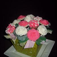 Cupcakes Flowers Bouquet!!