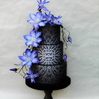 Wedding cake Clematis