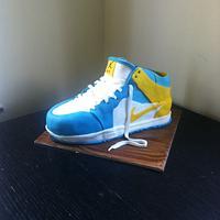Trainer cake