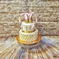 Bas Releif and Ballet Shoe Cake