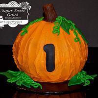 Pumpkin Smash Cake