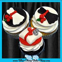 Bridal Shower Jumbo Cupcakes by Karin Giamella