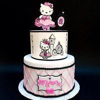 Hello Kitty Disney Princess