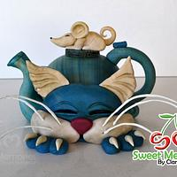 Cat Teapot Cake - Art of Pottery Collab