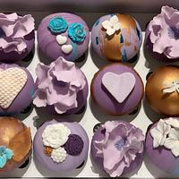 Abstract Love Cupcakes