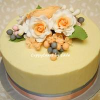 anniversary cake by edda