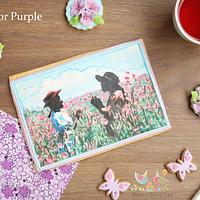 The Color Purple by Mónica González - Cakeflix Collaboration
