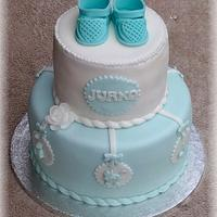 Cake for baptism