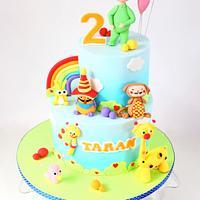 Taran's 2nd Birthday