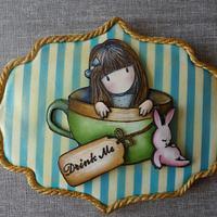 Gorjuss handpainted cookie II