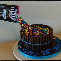 18th birthday chocolate cake