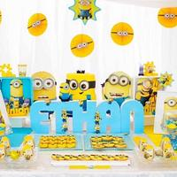 Despicable Me Candy Buffet