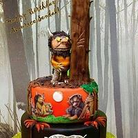 """""""WHERE THE WILD THINGS ARE"""" Cake"""