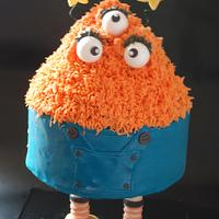 Cute Halloween Cake - Philip!