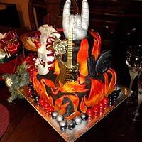 """1st """"Rock N Roll"""" Cake"""
