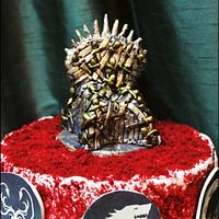 Game of Thrones cakes.