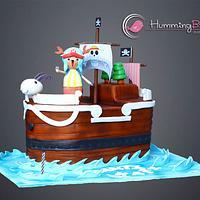 One Piece Pirate Cake