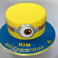 Minion - Birthday cake