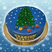 Merry Christmas -cake