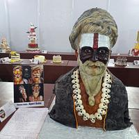 Decorated Cake Exhibit :Theme India :Aghori Baba