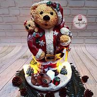 Cake Santa shery crasmaas