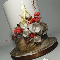 Organic wedding cake by dortUM