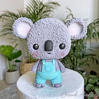 Cute Koala Cake Topper