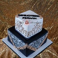 Royal icing decorated