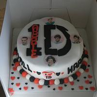 1 Direction Cake