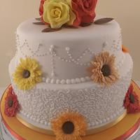 Autumn Colours Cake