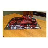 Gears of War Cake