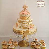 Stylish cake