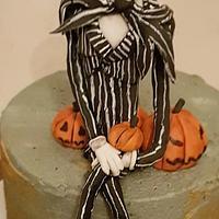 Jack the pumpkin king cake