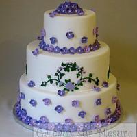 Wedding cake by Galina Duverne - Gâteaux Sur Mesure Paris